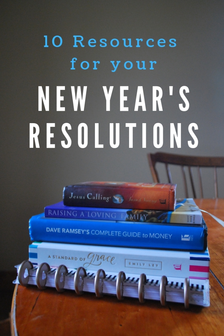 10 Resources for your New Year Resolutions
