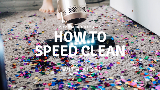 How to Speed Clean (With EssentialOils)