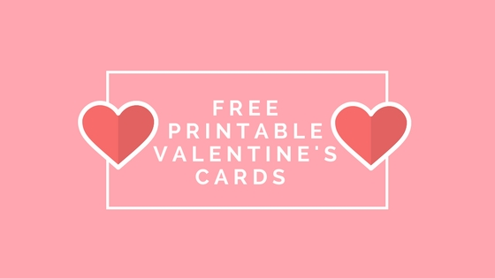 Free Printable Valentine's Cards for Kids (Boy and GirlSets)