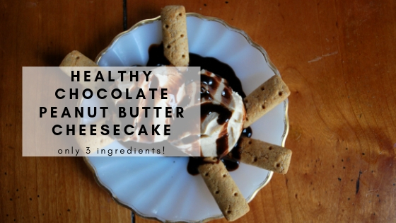 Healthy Alternative to Chocolate Peanut Butter Cheesecake