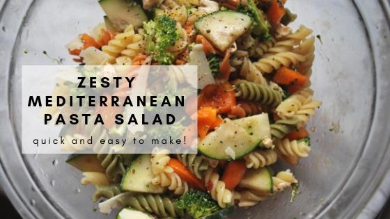 Zesty Mediterranean PastaSalad